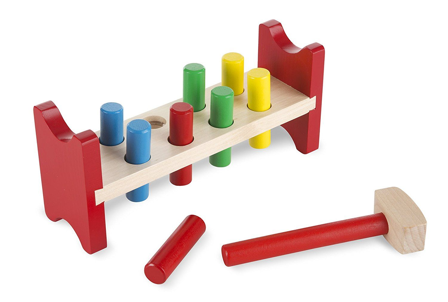 Pound A Peg Play Peg Bench Melissa And Doug 496 Deluxe